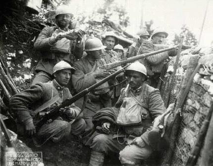 Mostra sulla prima guerra mondiale alla Galleria Furio Del Furia di Foiano