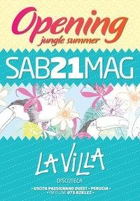 La Villa Summer (Passignano): apertura estiva discoteca da Sabato 21 Maggio