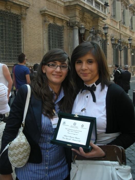 Un prestigioso riconoscimento agli studenti del Laparelli dal Senato della Repubblica