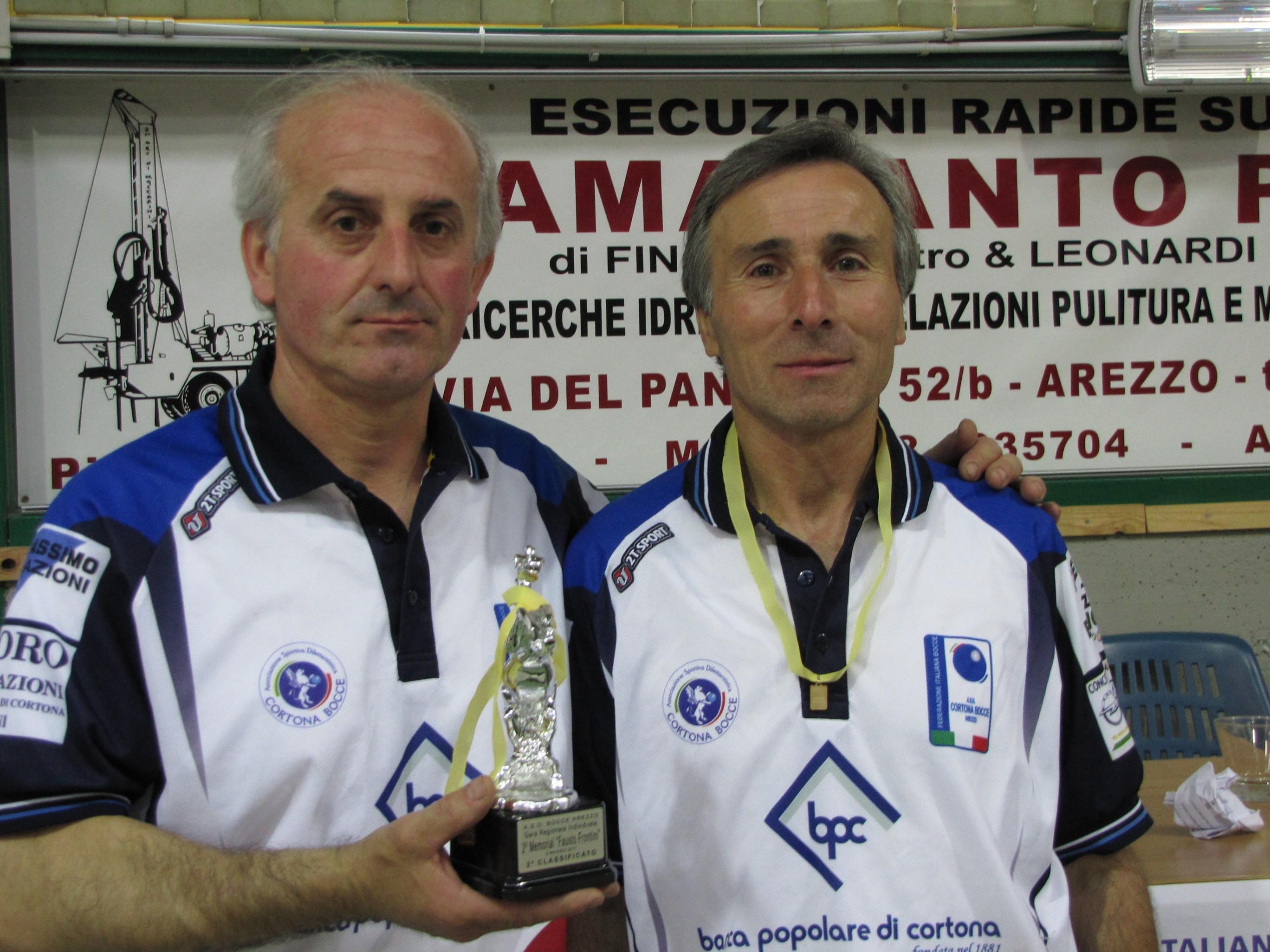 Cortona Bocce, grande prova con Battistoni-Lucarini-Mancioppi-Chiodini