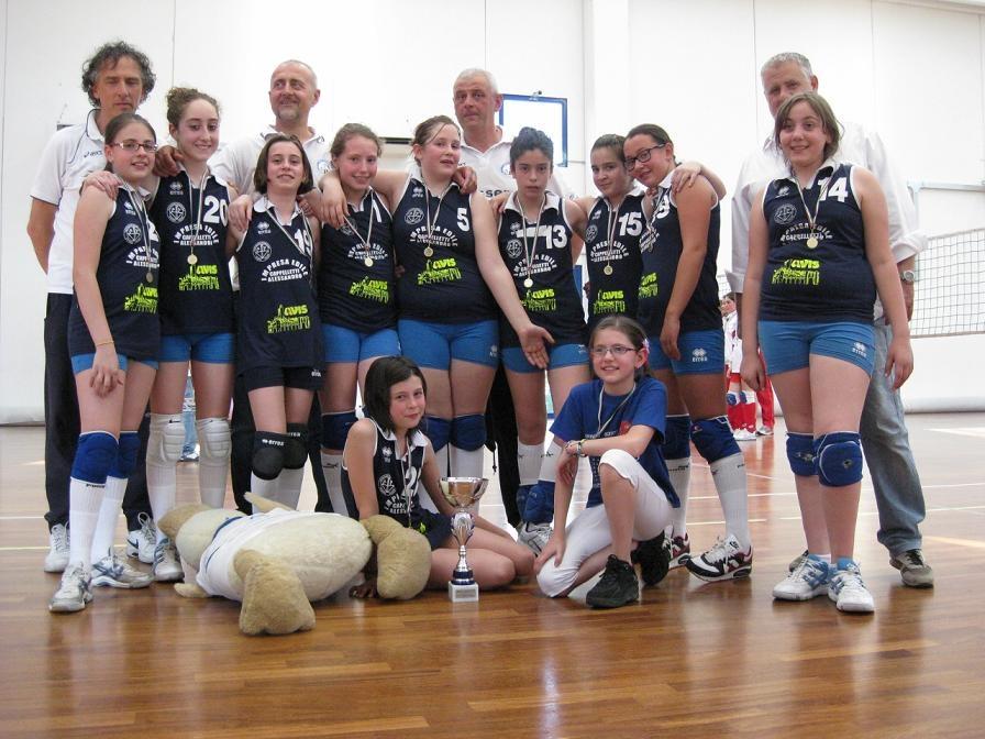 Cassero Volley Under 12 campione provinciale