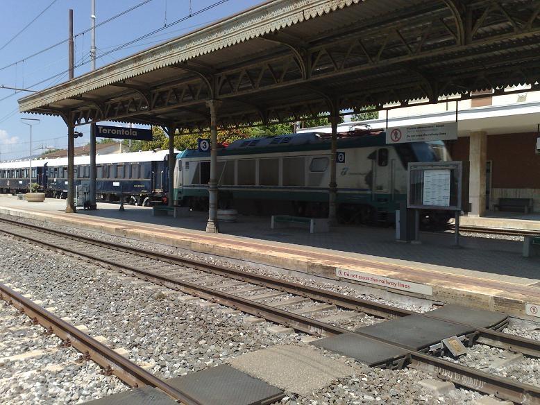 Orient Express in Valdichiana. A Terontola un pezzo di storia delle Ferrovie