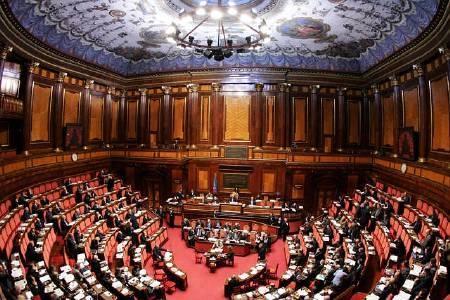 Studenti del laparelli di cortona al senato in diretta rai for Senato della repubblica diretta