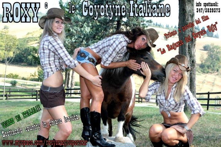 Io sto con la Coyotina Roxy