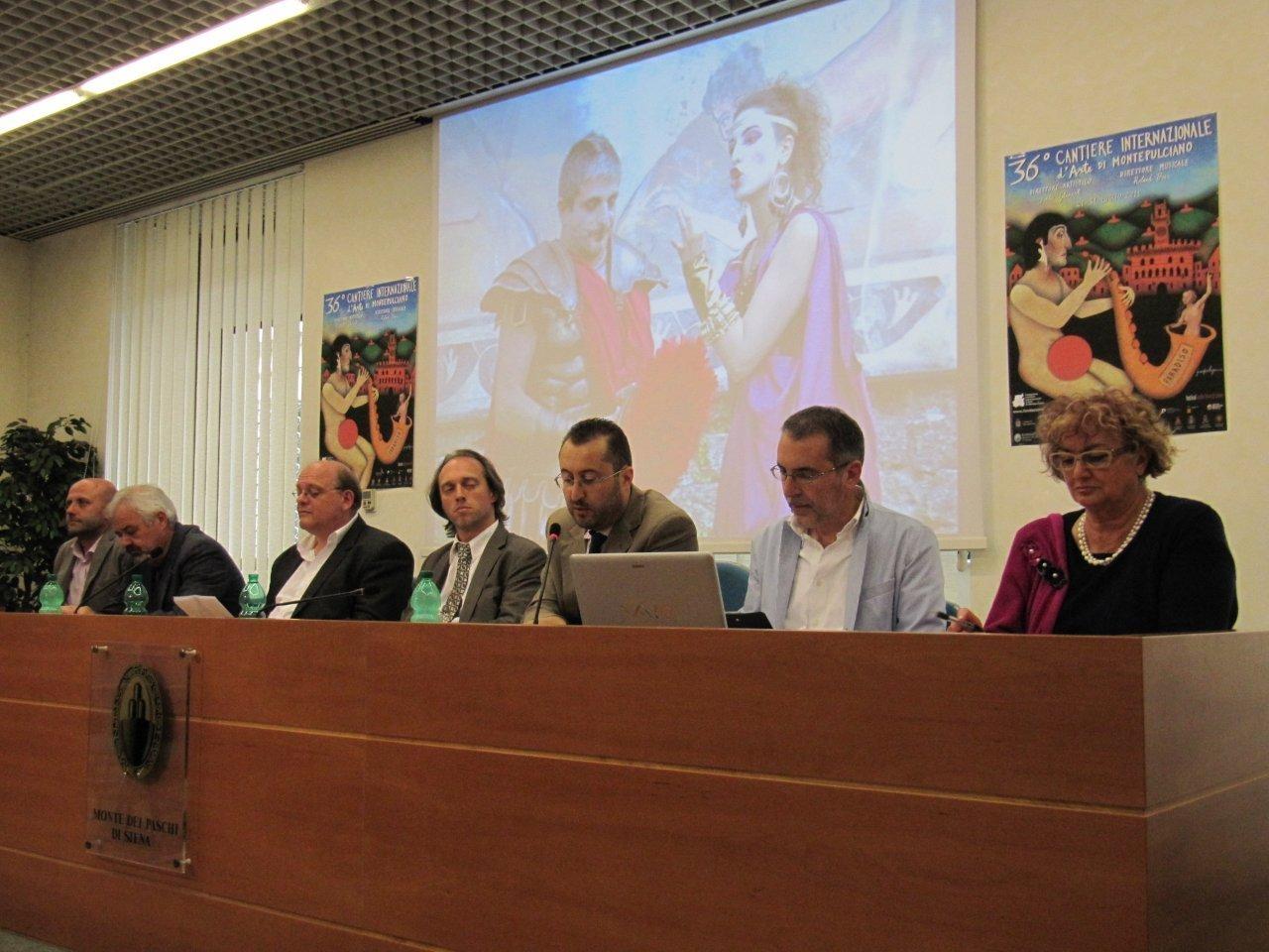 Montepulciano: presentato il Cantiere Internazionale d'arte