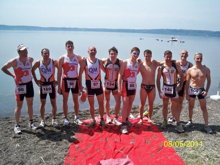 Triathlon Bardolino: i risultati degli atleti della Vis Cortona