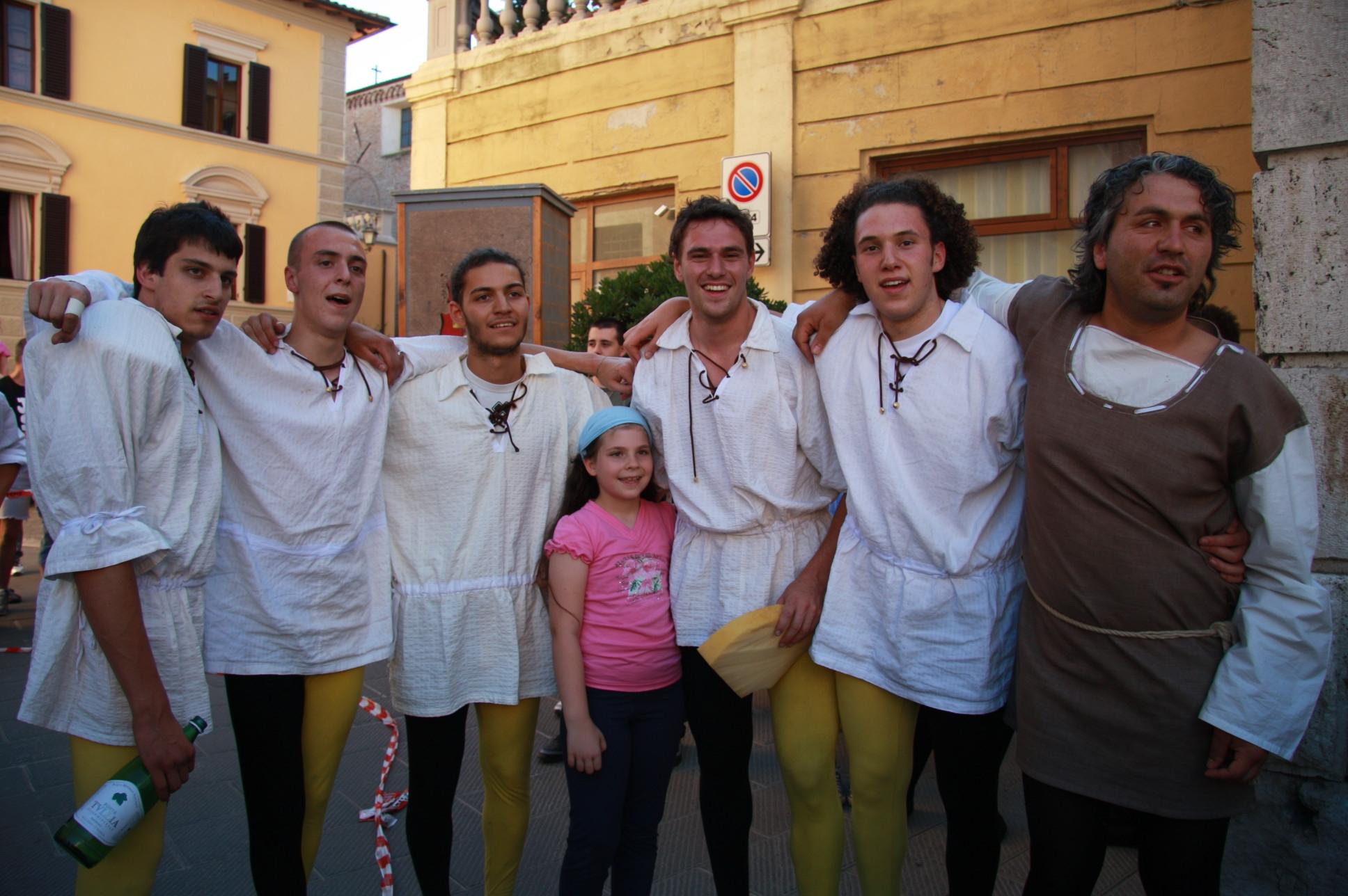 Santa Maria vince il Palio delle Torri a Chiusi