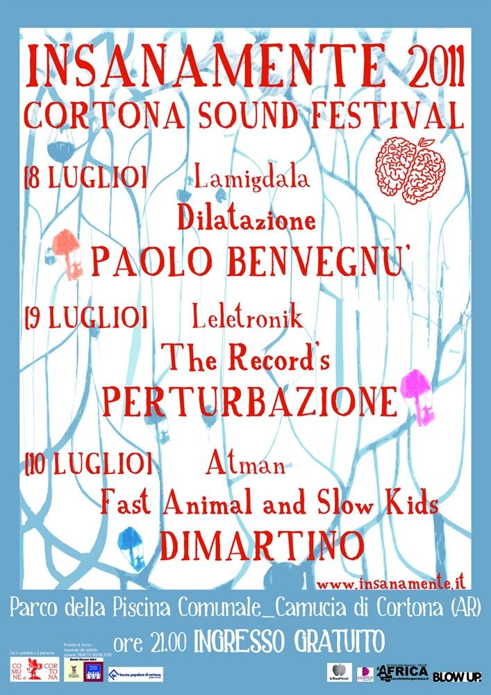 Ecco il programma definitivo di Insanamente Cortona Sound Festival