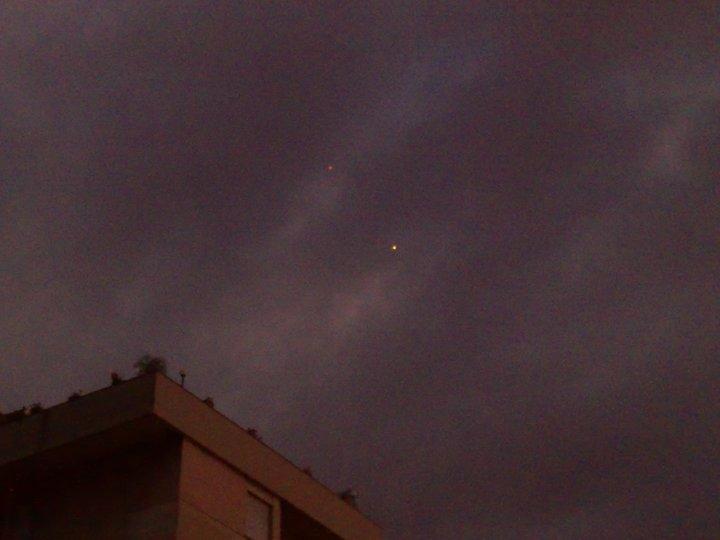 Ufo nel cielo di Arezzo?