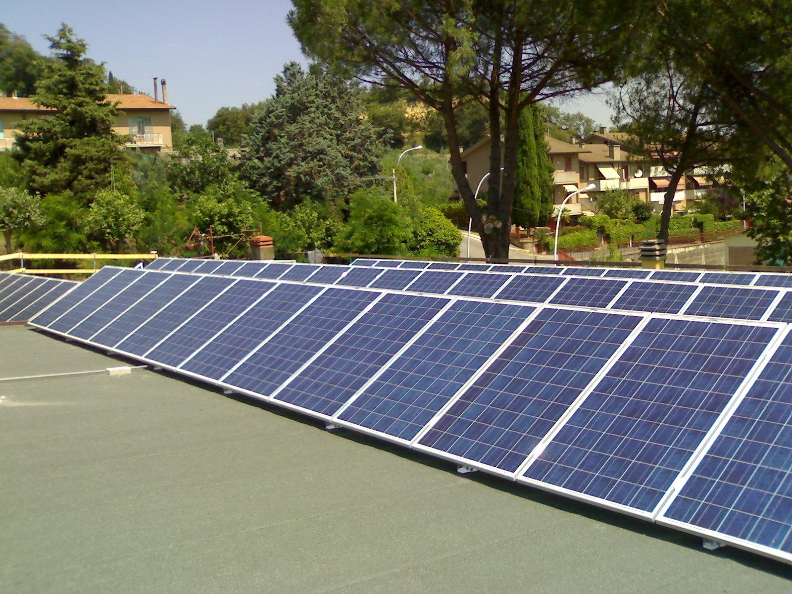 Chianciano punta al fotovoltaico: due impianti nelle Scuole elementari