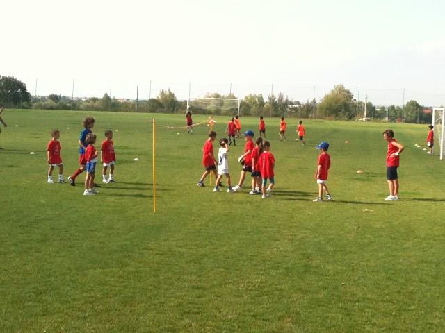 D'estate a Camucia il calcio giovanile non va in vacanza