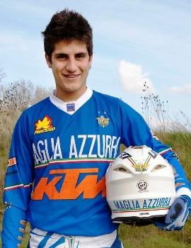Una maglia azzurra mondiale per Samuele Bernardini