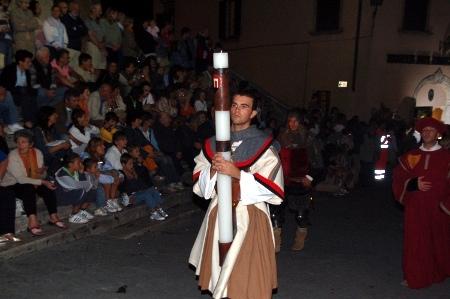 Corteo dei Ceri a Montepulciano: l'antipasto del Bravio