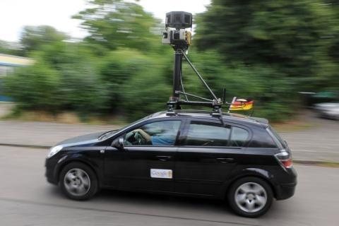 Avvistata a Foiano la leggendaria Google Car