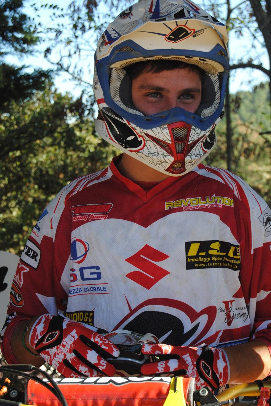 Motocross: Valente (Team Suzuki Valenti) non delude in MX1 a Montevarchi