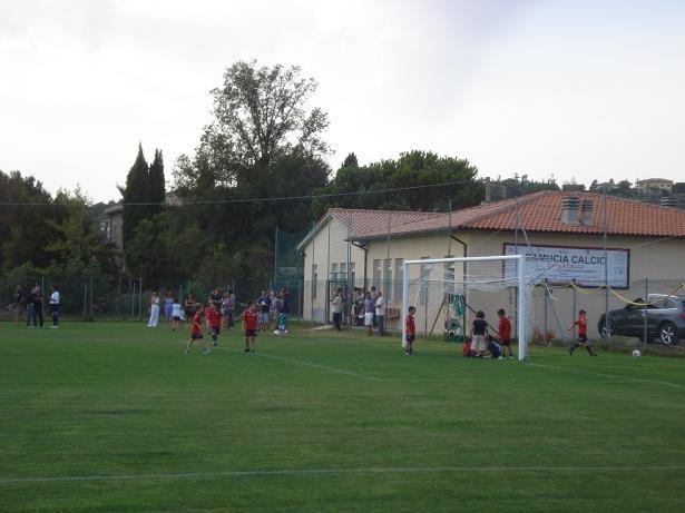 Un grande successo per la Scuola Calcio del Camucia