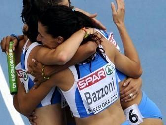 Fuori per un soffio Chiara Bazzoni e l'Italia dalla finale 4x400