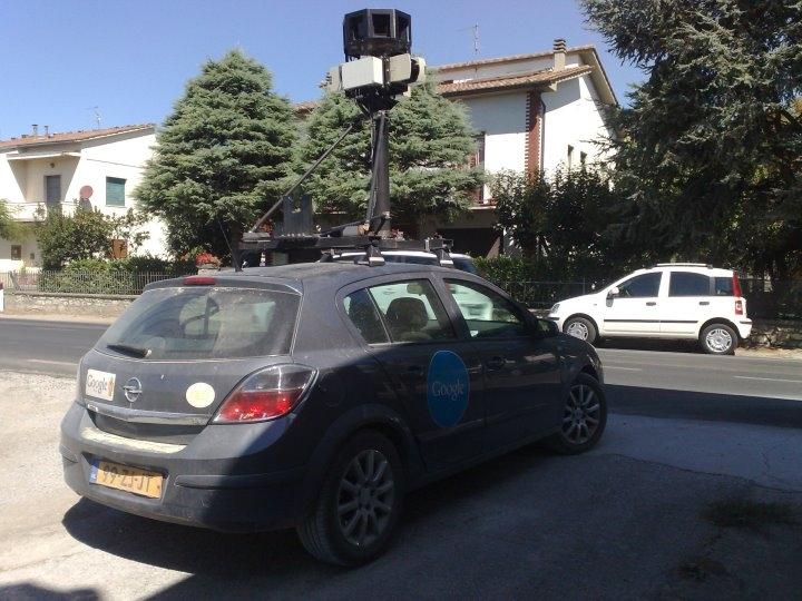Avvistata ancora la Google Car, stavolta a Cortona
