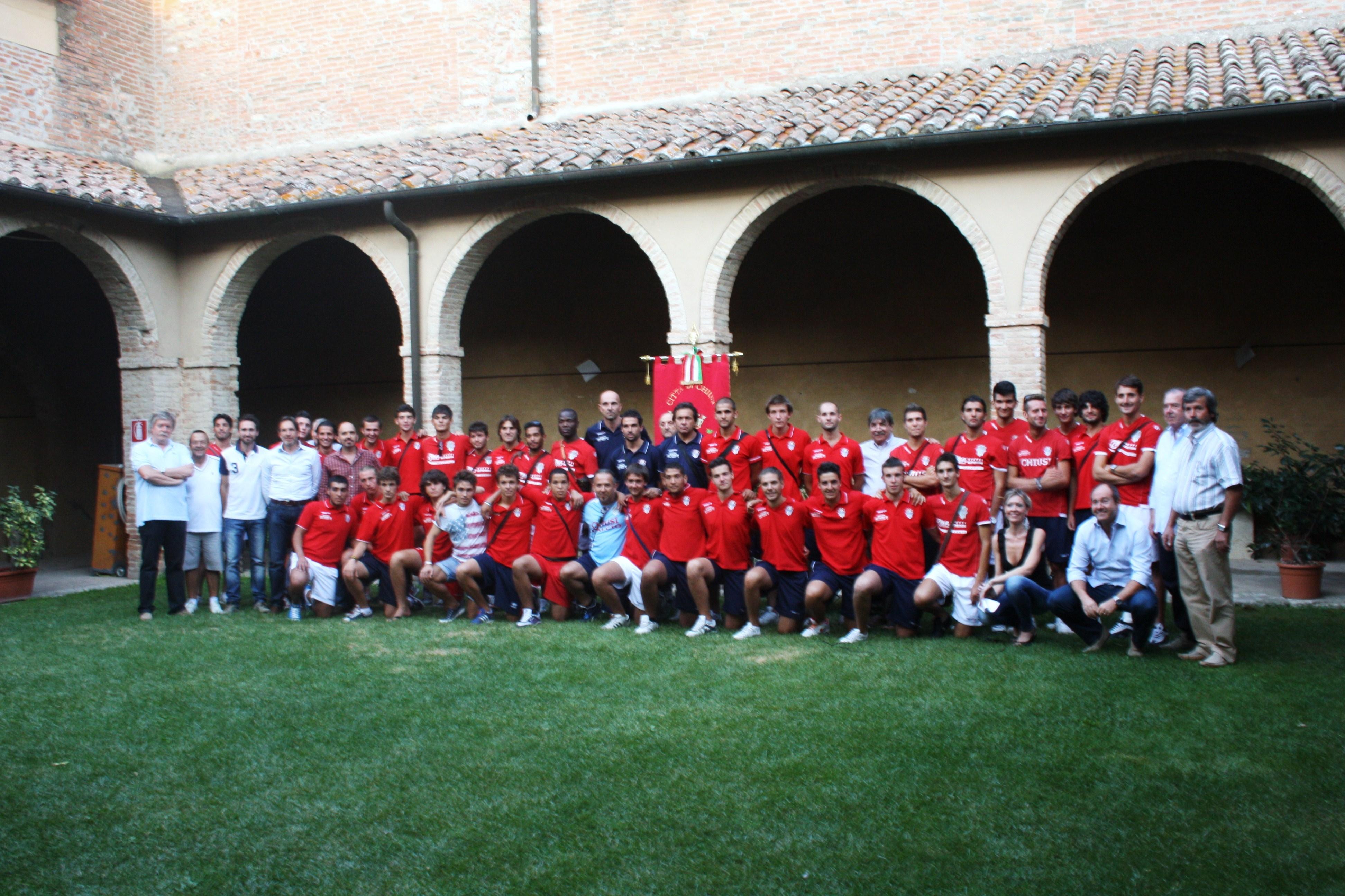 Chiusi: presentata la nuova rosa per la stagione 2011-12
