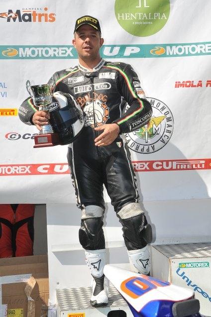 Moto: Diego Pilia chiude al secondo posto il campionato Motorex Pirelli