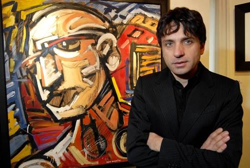 Le opere di Dario Ballantini a Cortona