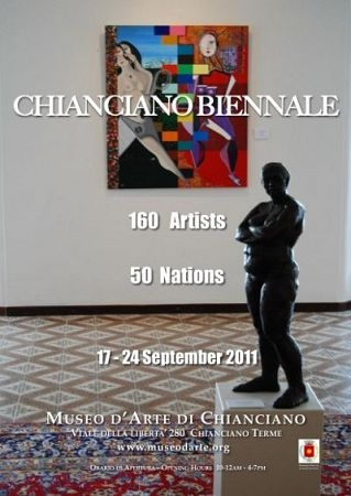 Chianciano: i vincitori della Biennale d'Arte Contemporanea 2011