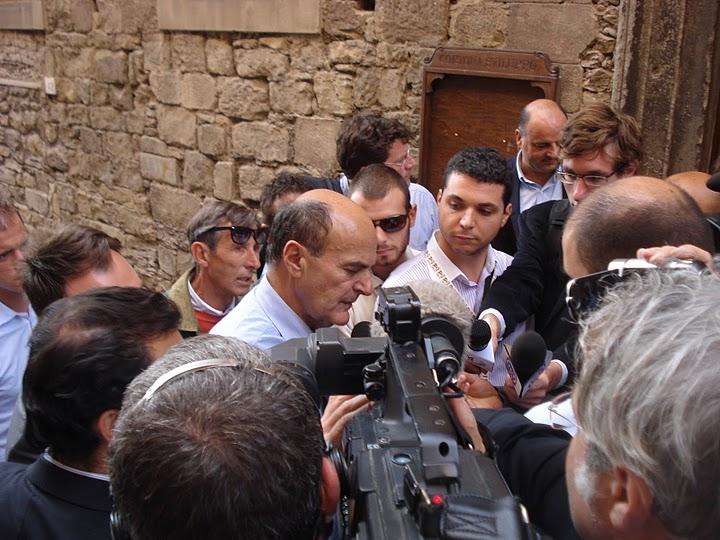 Scuola nazionale di Politica PD a Cortona: day one, Bersani, le foto