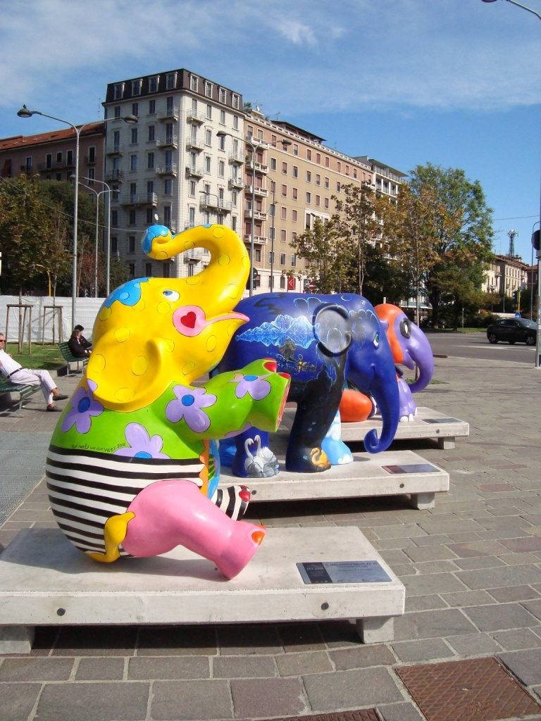 Elephant Parade: Elefanti in città