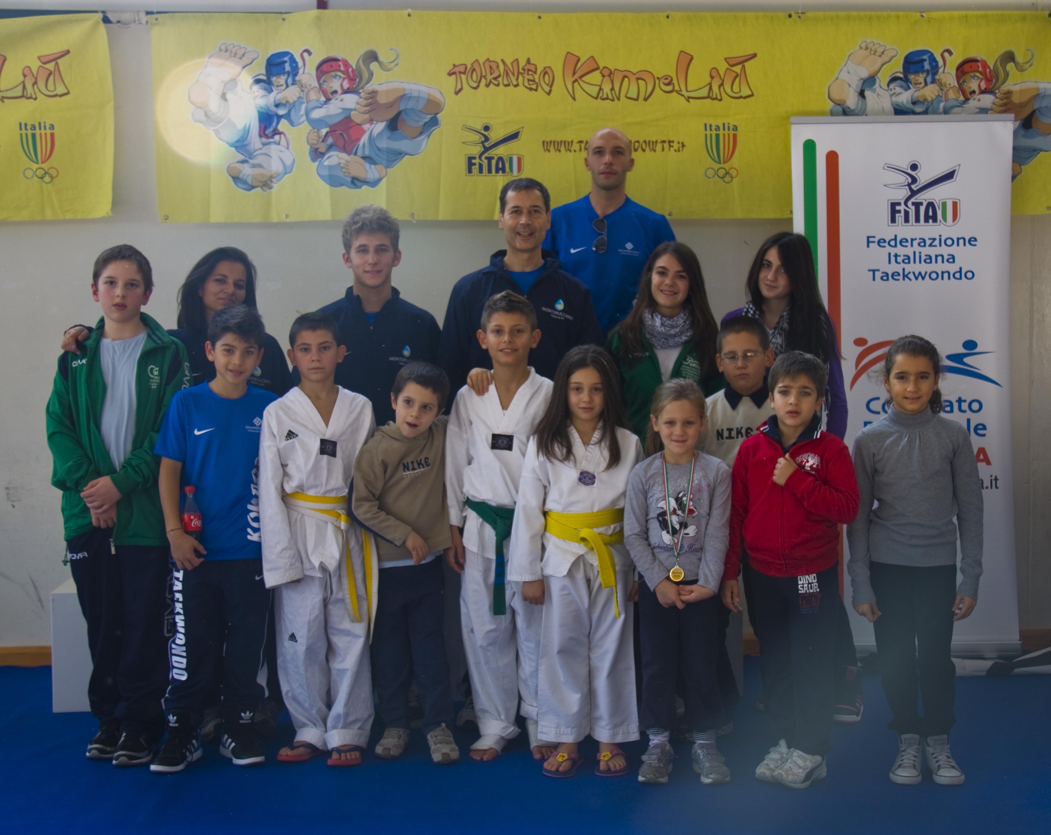 Taekwondo: i bimbi dell Kouros inaugurano la stagione sportiva con ottimi risultati