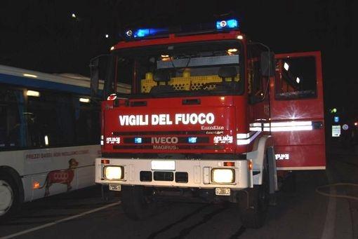 C.Fiorentino: incendio alla Sirap-Gema