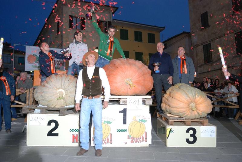 Foiano, grande successo della Festa della Zucca