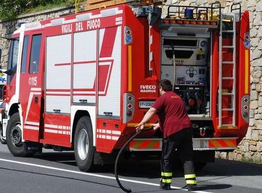 Foiano della Chiana: incendio in una pizzeria del centro storico