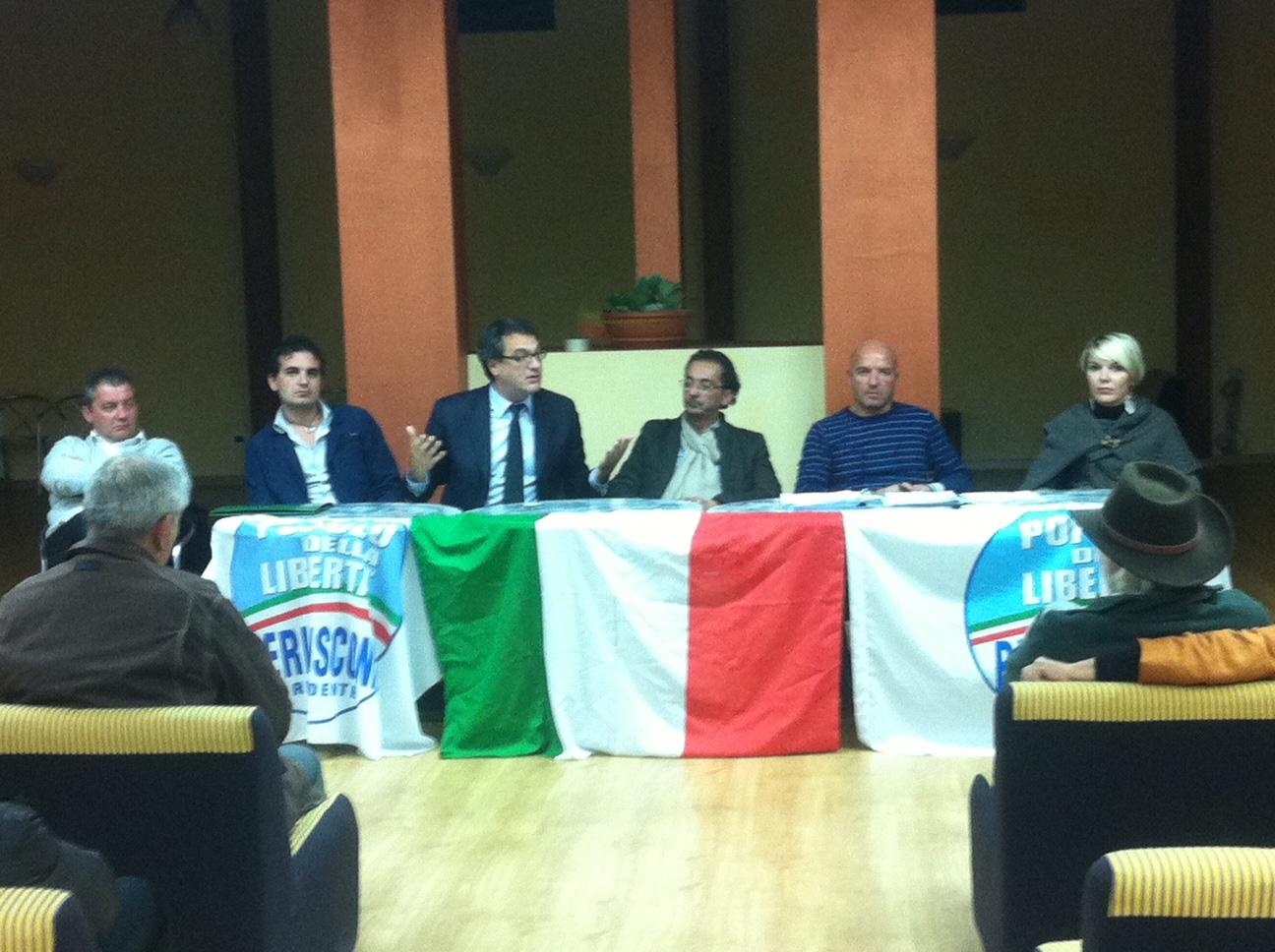 Castiglion Fiorentino, primo incontro del PdL nelle frazioni ieri a Manciano
