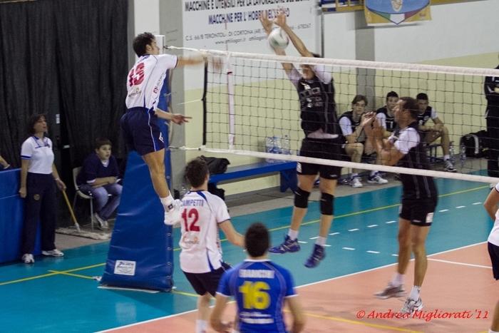 Cortona Volley zoppica a Ravenna, prima sconfitta stagionale