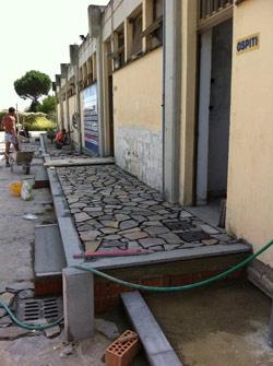 La Sansovino torna a giocare a Le Fonti, quasi completati i lavori di ristrutturazione