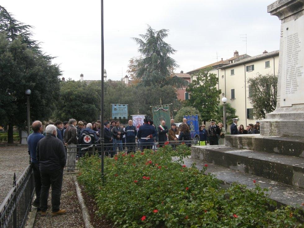 Celebrato il 4 Novembre a Monte San Savino