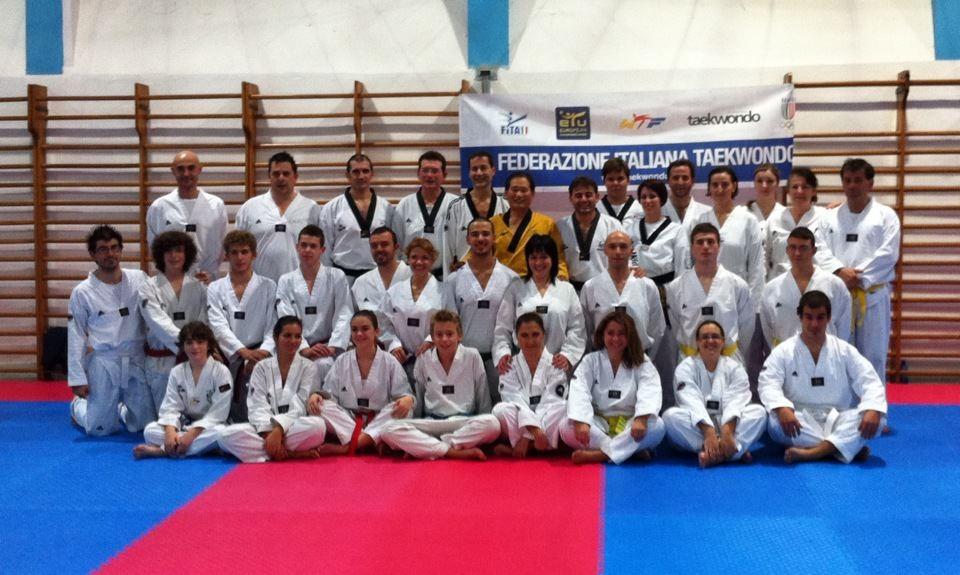 Successo per lo stage di Kouros Taekwondo col maestro Park