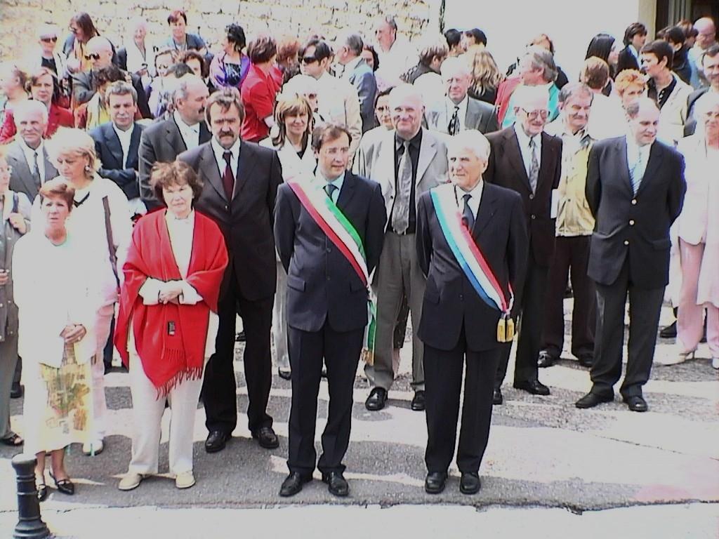 Il Sindaco di Cortona Vignini ricorda Danielle Mitterrand