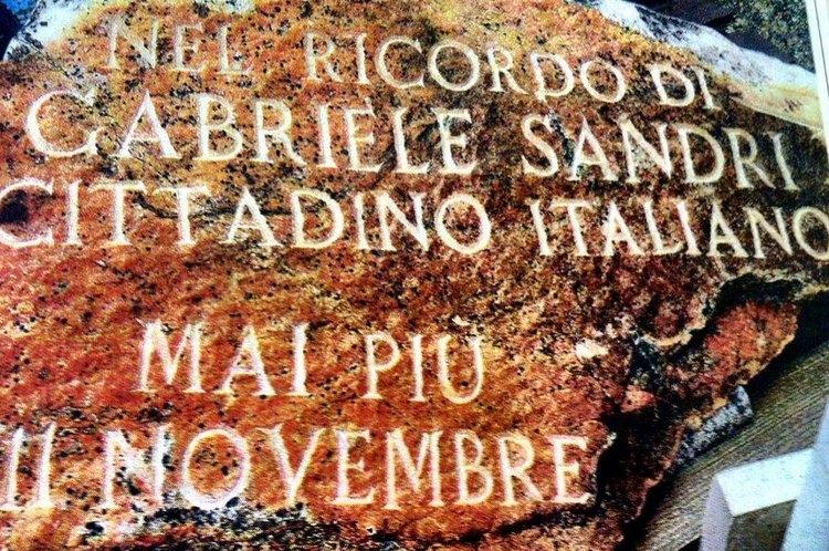 Svelata la stele per Gabriele Sandri a Badia al Pino
