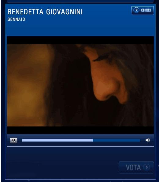 Ora tocca a Benedetta Giovagnini: via al web-voto per Sanremo