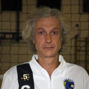 Il trainer del Cortona Volley Sideri vince la
