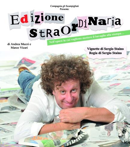 Edizione Straordinaria: Andrea Muzzi al Rosini di Lucignano