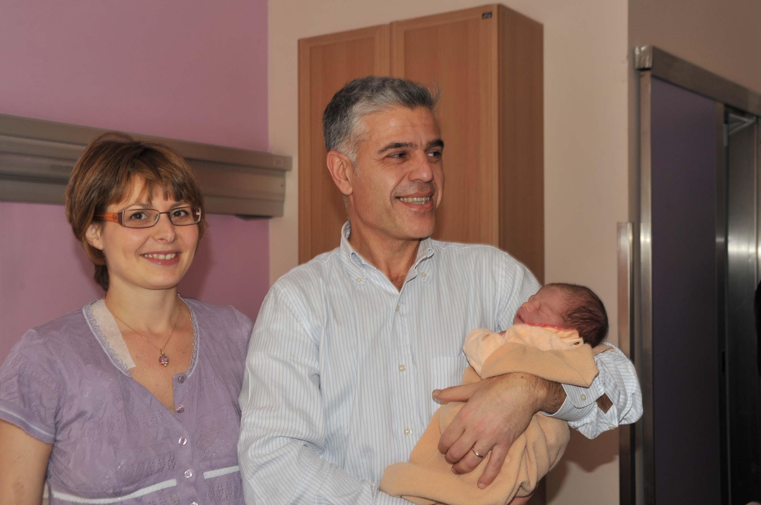 E' cortonese la prima nata del 2012