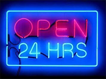 Ma l'Open 24 hours ha senso in Valdichiana?