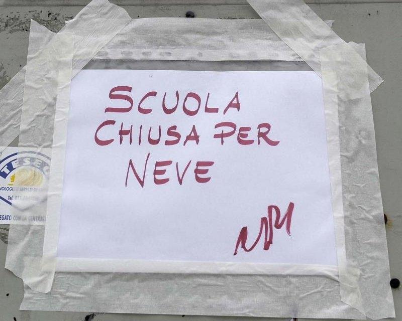 Cortona: domani Scuole chiuse per l'emergenza neve