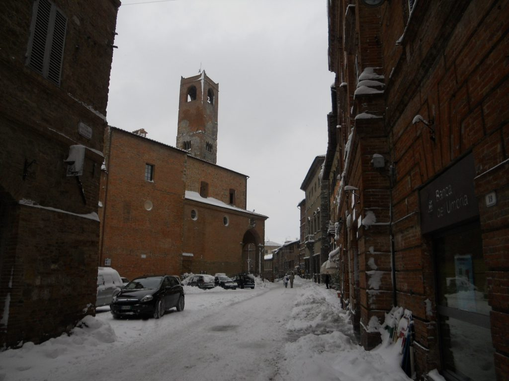 Neve, Città della Pieve chiede lo stato di emergenza