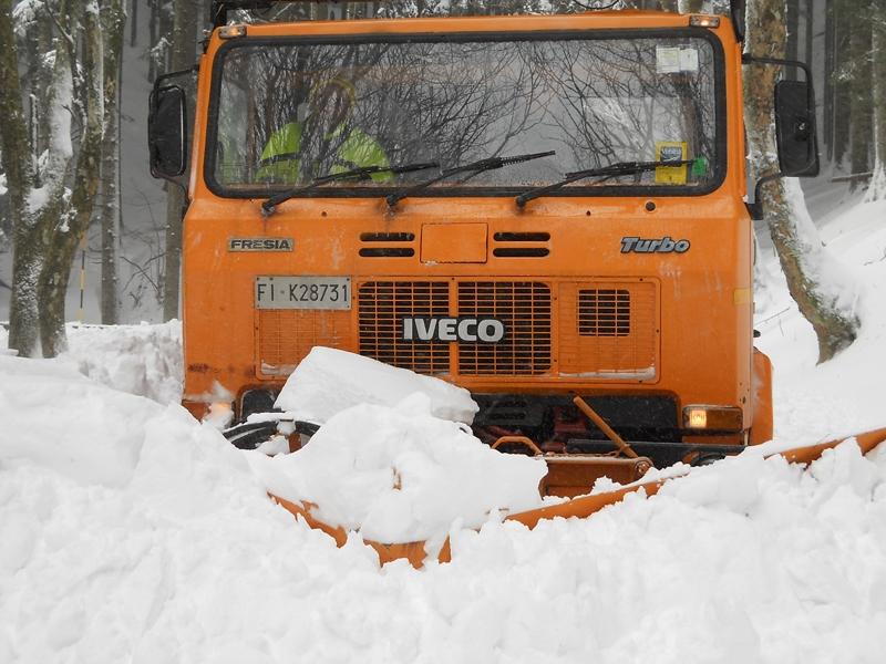 Neve e ghiaccio: aggiornamento sulla situazione della viabilità