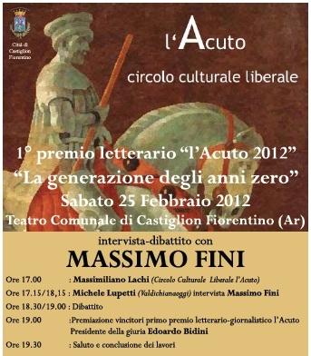 L'Acuto incontra Massimo Fini