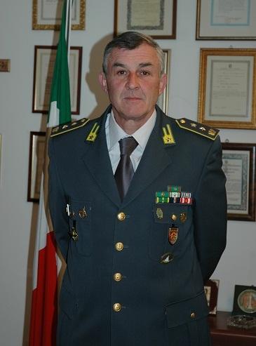 Il Ten. Col. Roberto Pulicani ritirerà il premio