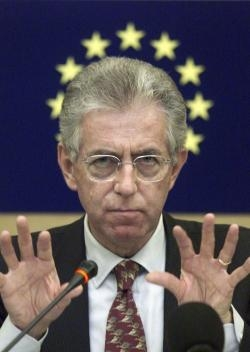 Satira: Pizzeria Mario Monti...
